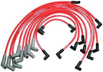Ford Racing High Performance 9mm Spark Plug Wires - Red (79-95 5.0L)
