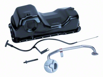 Ford Racing 5.0L Oil Pan Kit (79-95 5.0L)