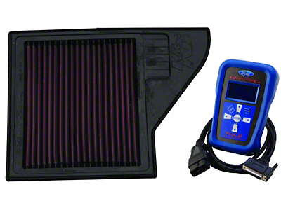 Ford Performance K&N Air Filter with ProCal Tuner (11-14 GT)