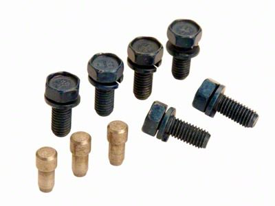 Add Pressure Plate Bolt and Dowel Kit