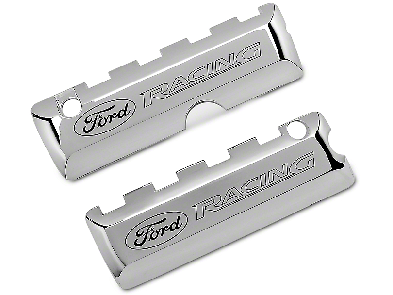 Ford Racing Chrome Coil Covers (11-16 GT, BOSS, GT350)
