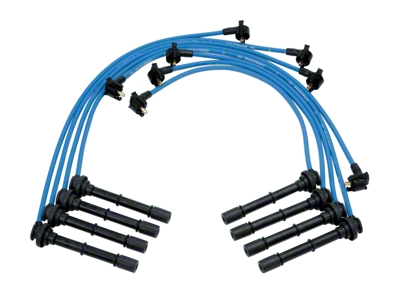 Ford Racing High Performance 9mm Spark Plug Wires - Blue (96-98 Cobra)