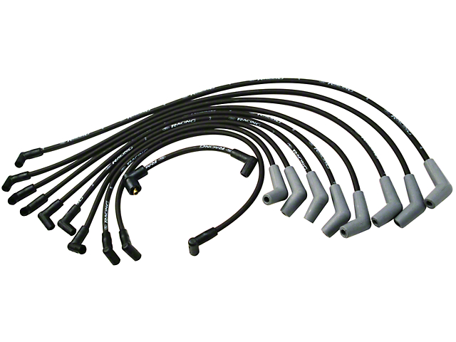 Ford Performance High Performance 9mm Spark Plug Wires - Black (79-95 5.0L)