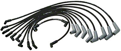 Ford Racing High Performance 9mm Spark Plug Wires - Black (79-95 5.0L)