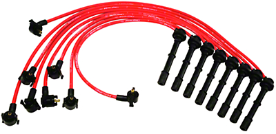 Ford Racing High Performance 9mm Spark Plug Wires - Red (96-98 Cobra)