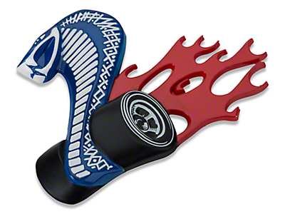 Ford Racing GT500 Cobra Jet Grille Emblem (05-14 All)