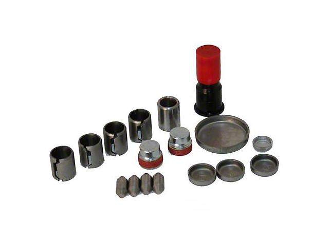 Ford Racing Freeze Plug & Dowel Kit - Aluminum Block (96-01 Cobra; 03-04 Mach 1)