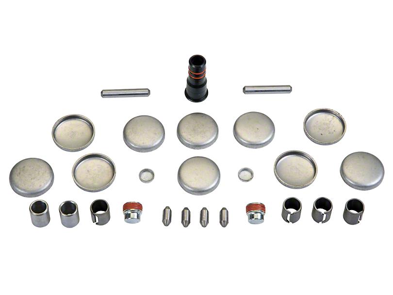 Ford Performance Freeze Plug & Dowel Kit - Iron Block (96-04 GT)