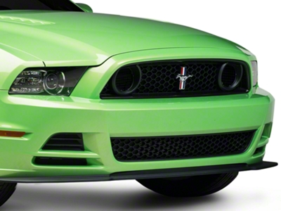 Ford Racing BOSS 302S Grille w/ Emblem - Unpainted (13-14 GT, Boss)