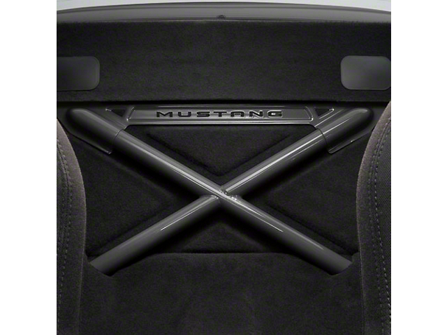 Ford Racing X-Brace Rear Seat Delete - Coupe - Gray (05-14 All)