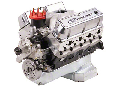 Ford Racing 347 CI 415 HP Sealed Racing Engine 7mm Valves