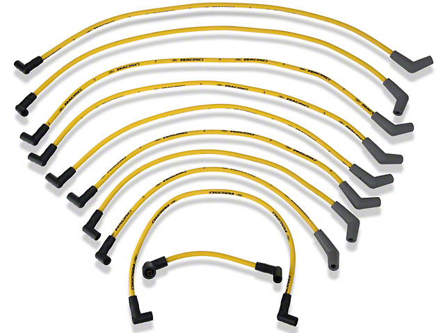Ford Performance High Performance 9mm Spark Plug Wires - Yellow (79-95 5.0L)