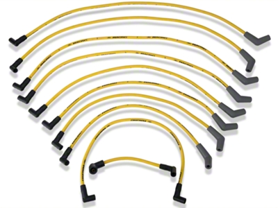 Ford Racing High Performance 9mm Spark Plug Wires - Yellow (79-95 5.0L)