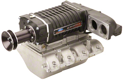 Ford Racing 550HP Supercharger Kit - Polished (05-09 GT Manual)