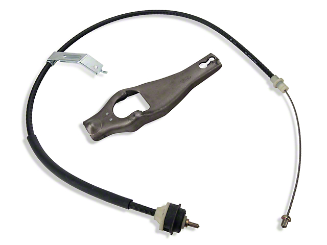 Ford Racing Clutch Cable and Fork (79-93 5.0L)
