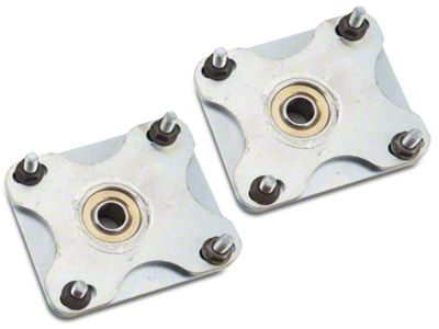 Add QA1 Caster Camber Plates (required)