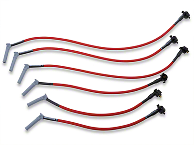 Performance Distributors Livewires 10mm Spark Plug Wires - Red (05-10 V6)