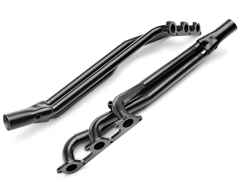 PaceSetter Black Long Tube Headers (05-10 V6)
