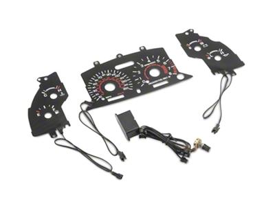 Black Face Reverse Glow Gauge Insert (96-98 GT)