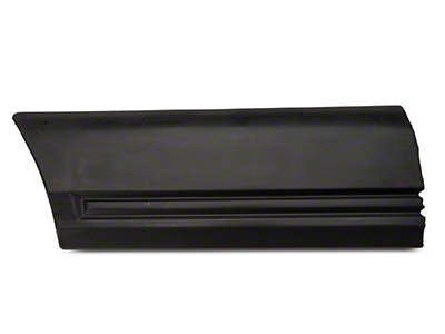 Left Side Fender Body Molding - Rear (85-86 All)
