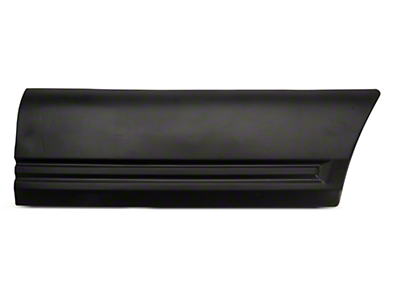 Left Side Quarter Body Molding - Front (85-86 LX)