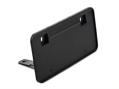 Front License Plate Bracket (85-86 All; 87-93 LX)