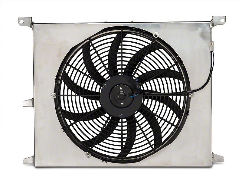 SR Performance Universal 16 in. High Performance Slim Electric Radiator Fan w/ Shroud (79-14 All)
