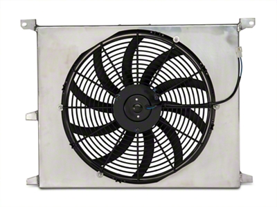 SR Performance Universal 16 in. Performance Slim Electric Radiator Fan w/ Shroud (79-14 All)