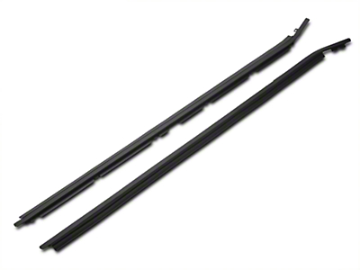 Outer Door Belt Weatherstrip Kit (79-86 Coupe/Hatchback; 83-86 Convertible)