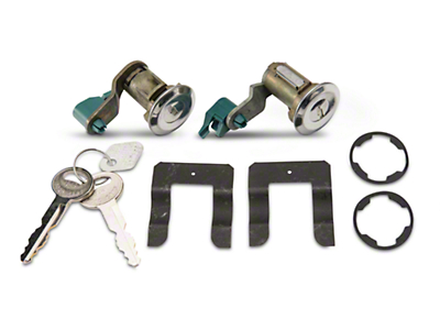 Door Lock Set - Stainless (90-93 All)