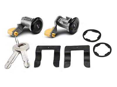 Door Lock Set - Black (90-93 All)