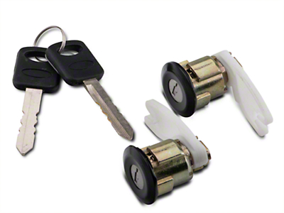 Door Lock Set - Black (94-95 All)