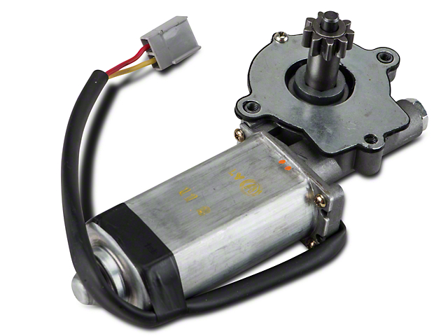 Power Quarter Window Motor - Driver Side - Convertible (84-93 All)