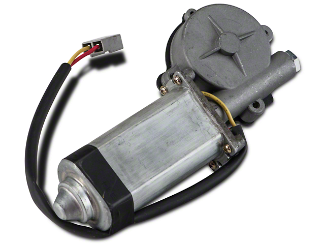Power Quarter Window Motor - Passenger Side - Convertible (84-93 All)
