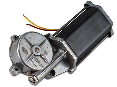 Remanufactured Power Quarter Window Motor - Driver Side - Convertible (84-93 All)