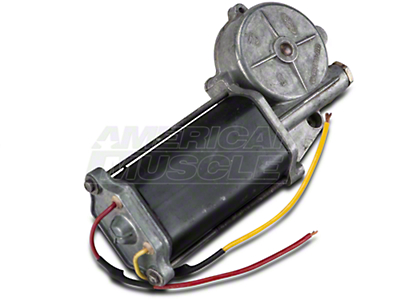 Remanufactured Power Quarter Window Motor - Passenger Side - Convertible (84-93 All)