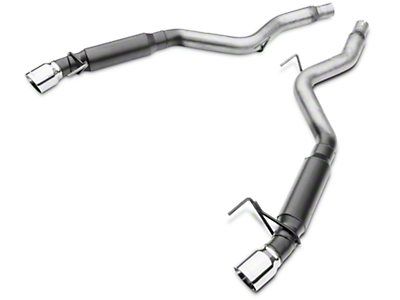 Flowmaster Outlaw Series Axle-Back Exhaust - Fastback (15-17 EcoBoost, V6)