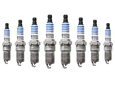 Ford Motorcraft OEM Spark Plugs (99-01 Cobra; 03-04 Mach1)
