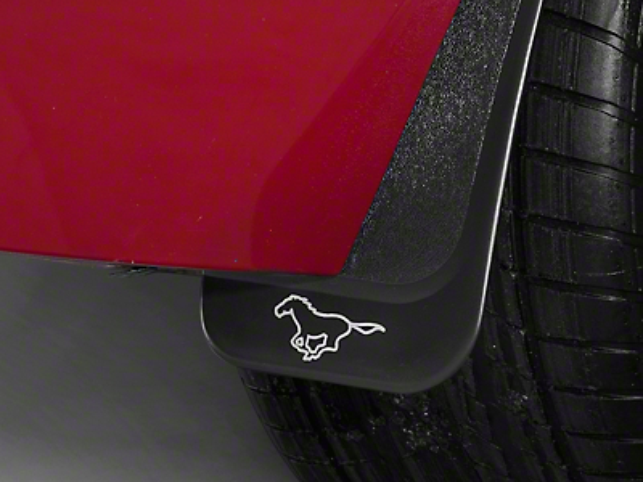 Ford Splash Guards w/ Pony Logo (94-09 All)