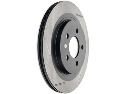 StopTech Slotted Rotors - Rear Pair (05-14 GT, V6)