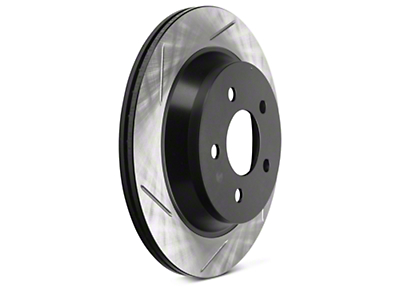StopTech Slotted Rotors - Rear Pair (94-04 Bullitt, Mach 1, Cobra)