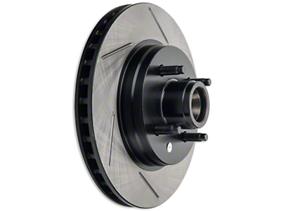 StopTech Slotted Rotors - Front Pair (87-93 5.0L)