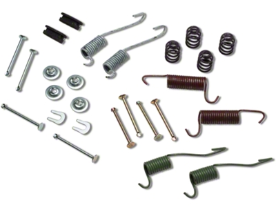 Replacement Rear Drum Hardware Kit (87-93 5.0L)