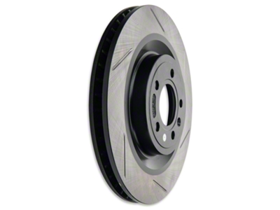 StopTech Slotted Brake Rotors - Front Pair (11-14 GT)