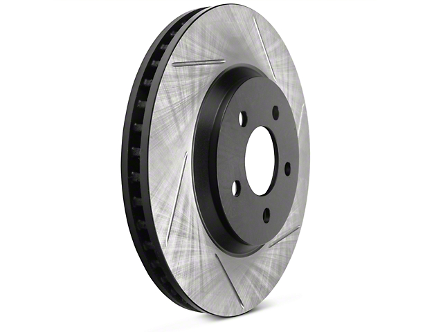 StopTech Slotted Rotors - Front Pair (11-14 V6)