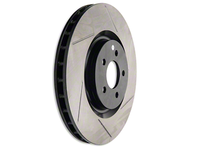 StopTech Slotted Rotors - Front Pair (07-12 GT500, 12-13 BOSS)
