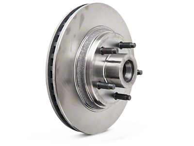 Replacement Front Rotor - 5 Lug (84-86 SVO, 79-93 5 Lug Conversion)