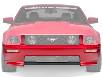California Special GT Front Bumper Cover - Unpainted (05-09 GT, V6)