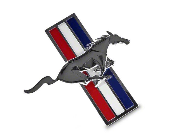 Add Ford Performance Tri-Bar Pony Fender Emblem - Right Side (05-09 V6)