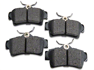 Akebono ProAct Ultra Premium Ceramic Brake Pads - Rear Pair (94-04 GT, V6)